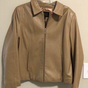 Wilson's Leather Jacket Camel Color SZ XL